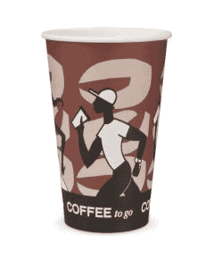 "Kaffeebecher, FSC-Zertifiziert, Coffee to go Becher ""Coffee Grabbers"" - 16oz, 400ml"