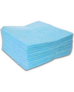 Allzwecktuch-Vlies, 38x38cm Vliestuch, Universal-Reinigungstuch - blau (mit Farbcodierung)