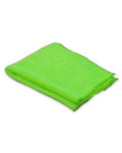 """Microfasertuch, """"Profi"""", grün, reinigt schonend nasse und trockene Verschmutzungen"""