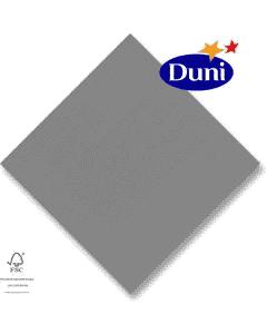 Dunilin-Servietten 40x40cm - Granite grey, grau (Airlaid-Serviette, textiler Charakter) # 156929