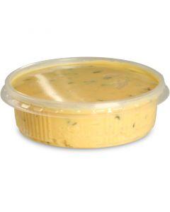 Delicatessenbeker, verpakkingsbeker met deksel, PP, rond (combi-pak) - 125ml