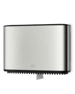 TORK Toilettenpapierspender T2 für Mini Jumbo Rolle - Edelstahl