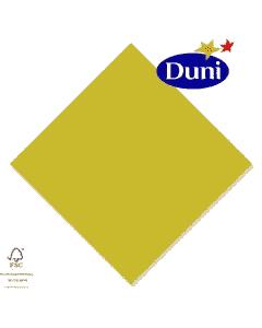 Duni Zelltuch-Servietten 40x40cm - Kiwi Grün (Dunicel-Servietten, Tissue, 3-lagig) # 149079