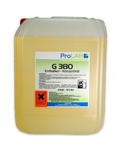 G-380 Entkalker flüssig - Konzentrat (ProLAB), 10L Kanister
