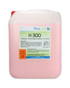 H-300 Cremeseife, flüssige Handwaschseife, mild, 10L Kanister