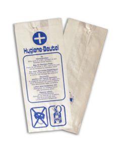 Hygienebeutel aus Papier, weiß (Damenhygienebeutel)