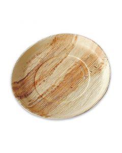 Party-Teller Palmblatt (kompostierbares Palmblättergeschirr) - Ø 20cm rund