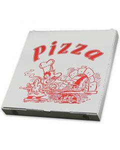 """Pizzakarton - """"Cuboxale"""", Vegetale - 26,5x26,5x3cm"""