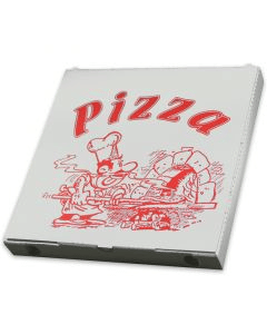 """Pizzakarton - """"Cuboxale"""", Vegetale - 32x32x3cm"""