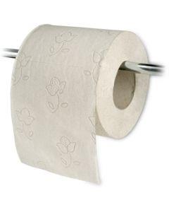 Toiletpapier, kleine rol voor in het huishouden - tissue, 2-laags, milieuvriendelijk 250 vel T4 recycling
