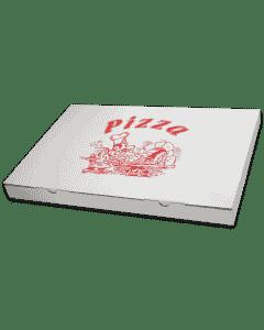 "Pizzakarton - ""Taglio - Onda Bassa"" 33x49x3,5cm - rechteckig, flach"