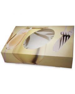 Party-Kartons für Cateringplatten - mittel, 46x31x8cm