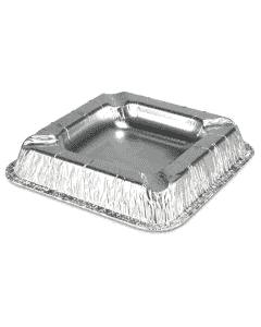 Aluminium asbak