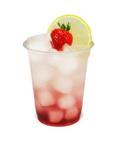 PLA Clear Cups, kompostierbare Smoothie Becher To Go 12oz, biologisch abbaubar - 0,3L