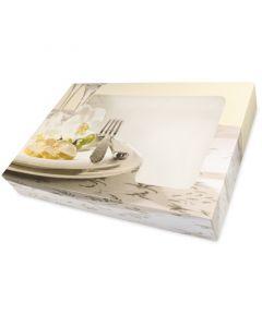 Partydozen voor cateringschotels - groot, 55 x 37,5x8cm