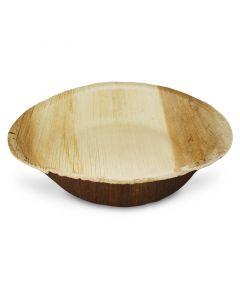 Soepborden palmblad (composteerbaar palmblad servies) - Ø 20 cm rond