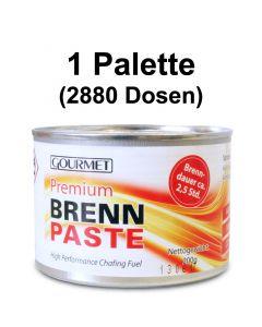 1 Palette - Profi- Brennpaste GOURMET 200g-Dose, Sicherheitsbrennpaste für Chafing Dish 2,5h