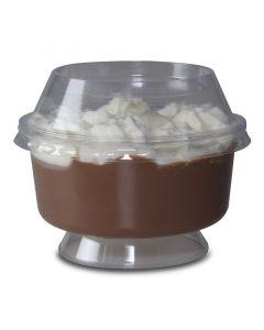 Dessertbecher mit Fuß, Eisbecher PS (Spritzguss) - 150ml