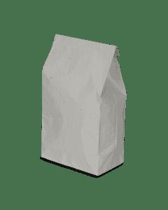 Weißer Warmhaltebeutel, 2-lagig, 1/2 Hendl, Hähnchenbeutel, 50g+15my