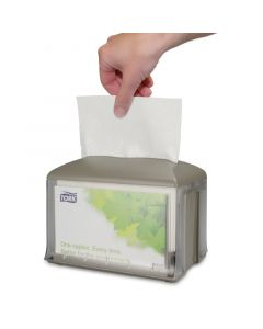 Dispenser servetten GOURMET Interfold Premium 2-laags hoogwit