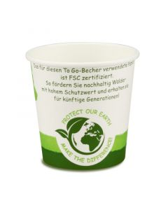 "Espressobecher, FSC-Zertifiziert, Coffee to go Becher ""Green Nature"" - 4oz/100ml"