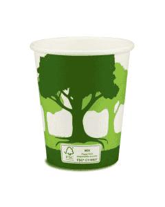 """Kaffeebecher, FSC-Zertifiziert, Coffee to go Becher """"Green Nature"""" - 8oz, 200ml"""