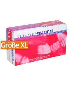 Vinyl-Handschuhe puderfrei, weiß - Untersuchungshandschuhe VINYL COMFORT - XL (9-10)
