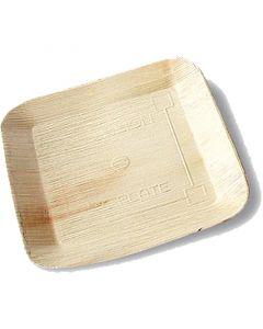 Partyschaal palmblad (composteerbaar palmblad servies) - 17x17cm 12cm vierkant