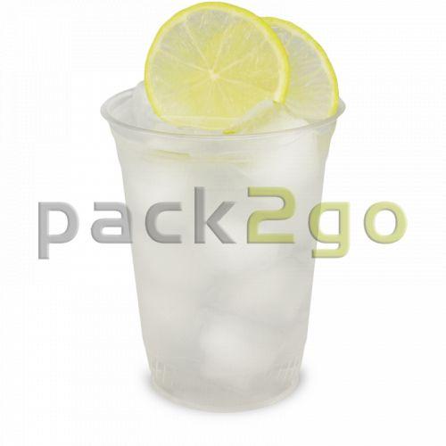 PLA Clear Cups, kompostierbare Smoothie Becher To Go 16oz, biologisch abbaubar - 0,4L