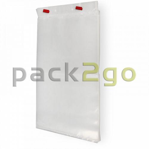 Abrissbeutel / Flachbeutel - LDPE, geblockt - 30x50cm - Sonderposten
