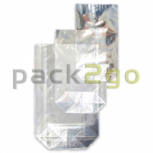 PP-Bodenbeutel (Kreuzbodenbeutel) aus Polypropylen, 120x225mm