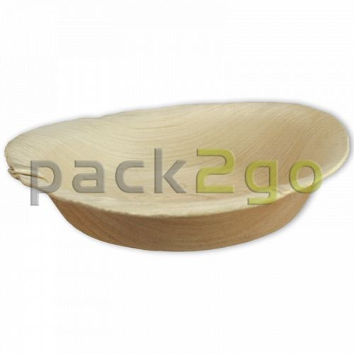 Dipschaal palmblad (composteerbaar palmblad servies) - Ø 12cm rond