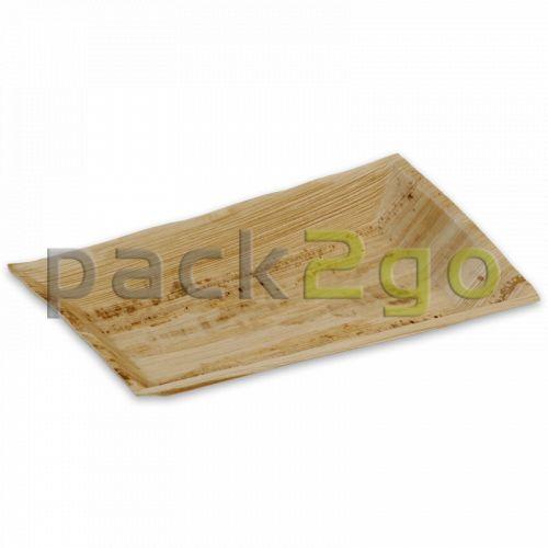 Party-Teller Palmblatt (kompostierbares Palmblättergeschirr) - 16x24cm rechteckig