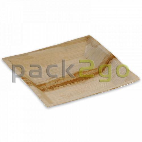 Partybord palmblad (composteerbaar palmblad servies) - 18 x 18 cm rechthoekig