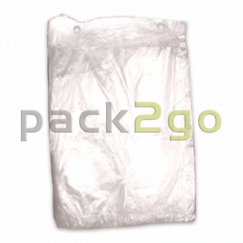 Poly-Flachbeutel LDPE, Gefrierbeutel transparent, T30 standard - 20x30cm