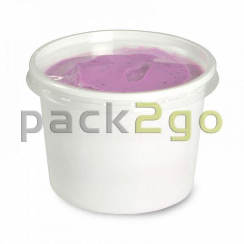 Feinkost-Verpackungsbecher, rund, Ø 70,3mm weiß - 125ml