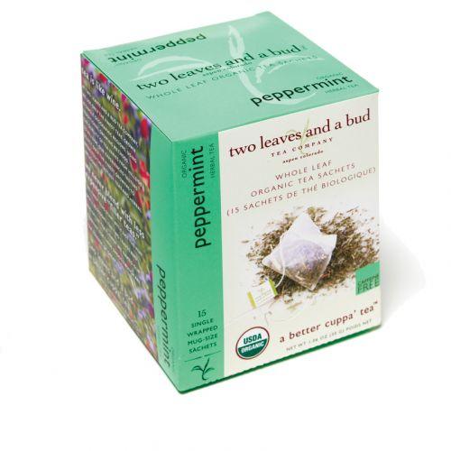 two leaves and a bud - Peppermint Bio Herbal Tea (Pfefferminztee)