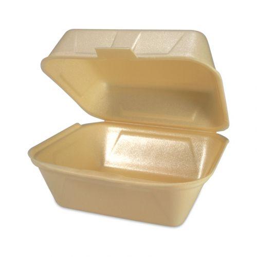 Hamburgerbox IP6 - geschuimd polystyreen, cream