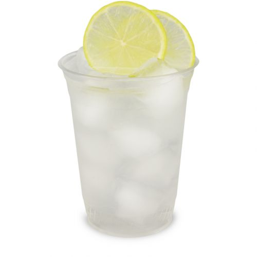 PLA Clear Cups, kompostierbare Smoothie Becher To Go 16oz, biologisch abbaubar - 0,4L