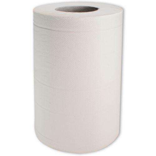 Handtuchrollen, Papier 2-lg, 20cm, 70m, mini hochweiß Mehrzweck-Wischtuch z.B. für Tork Innenabrollung M1-System
