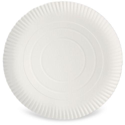 Kartonnen borden rond Ø 32 cm groot, 2 cm hoog, niet-gecoat, pizzabord
