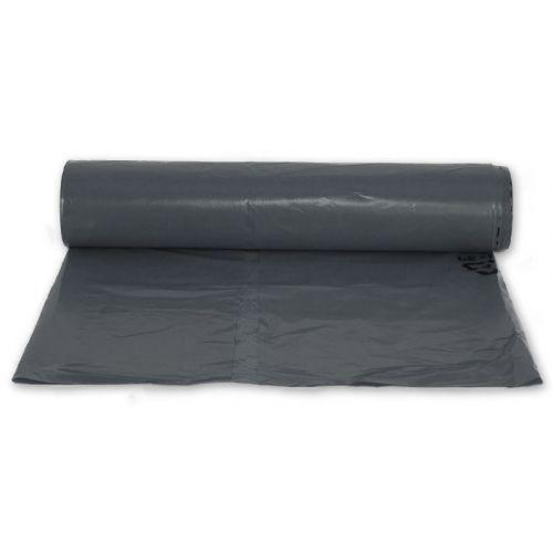 Müllsäcke LDPE 280l - 820+240x1100mm - extrastark T90 - schwarz