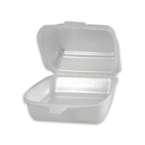 Hamburgerbox MP10 - geschuimd polystyreen