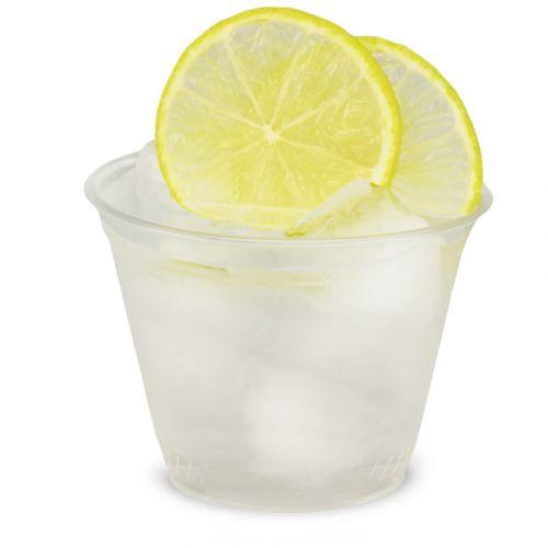 PLA Clear Cups, kompostierbare Smoothie Becher To Go 9oz, biologisch abbaubar - 0,2L