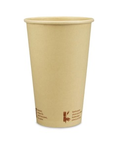 "Kompostierbarer Kaffeebecher ""Urban Bamboo"", Coffee to go Becher aus Bambus - 16oz, 400ml"