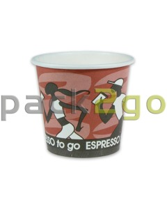 Espressobecher, Coffee to go Becher, Kaffeebecher Pappe