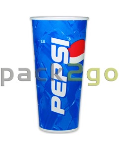 Kartonnen bekers ''Pepsi Cola'' bekers - 0,5l - Ø90mm