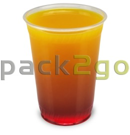 Clear cups (smoothie bekers) PET 9oz, 0,2 l (hoge, smalle vorm)