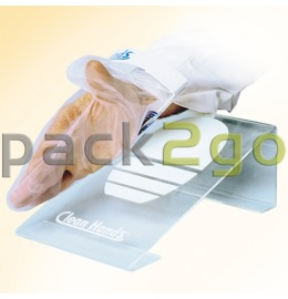 Fausthandschuh für Clean Hands Kit, Hygiene-PE-Fausthandschuh