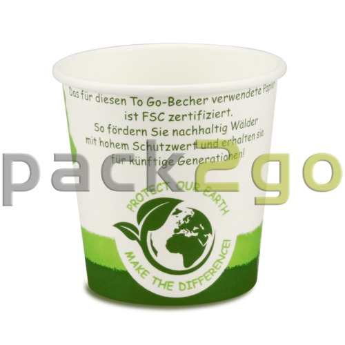 Espressobecher, FSC-Zertifiziert, Coffee to go Becher